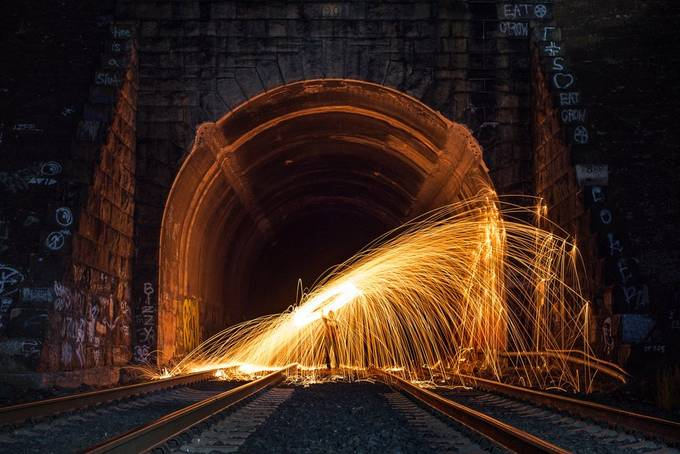 Steel Wool in Newcastle, Ca by NickLarsonPhotography - Image Of The Month Photo Contest Vol 35