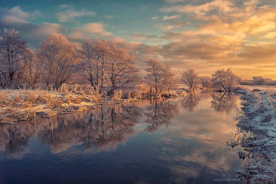 Such a beautiful winter in Denmark, Aarhus.