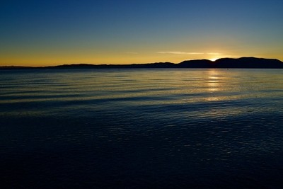 Sunrise on Bear Lake