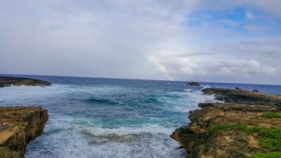 20160101-Rainbow over Laie, Hawaii
