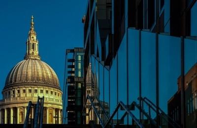 St Paul in colour.