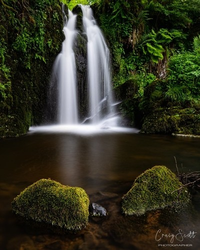 Carlops Waterfall
