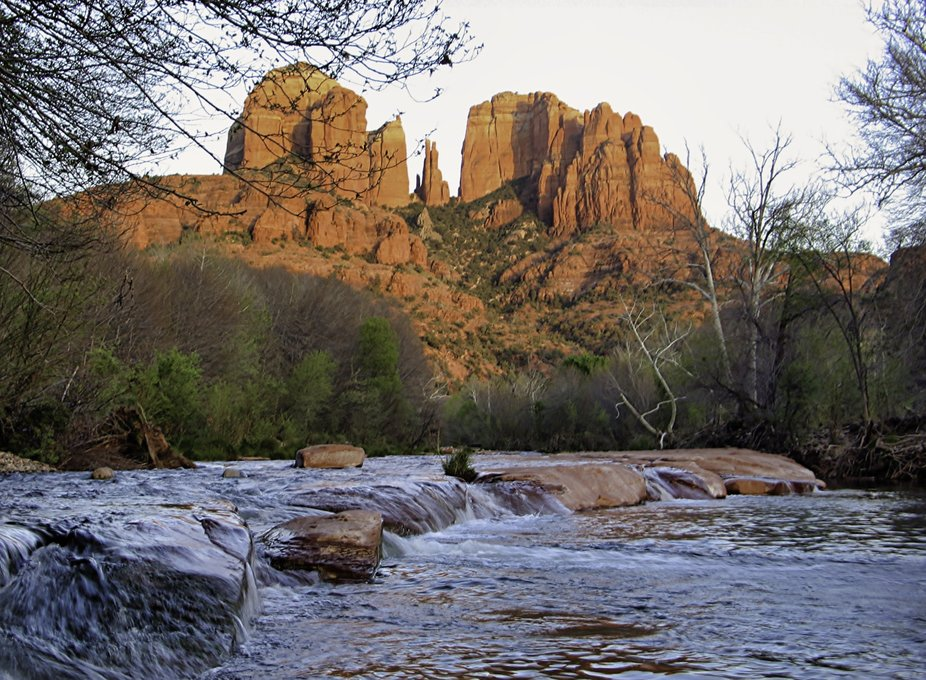 Cathedral Rock Formation
