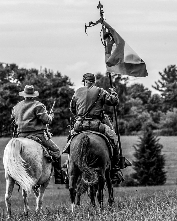 Pride of the flag Gettsyburg battle field  by Spartaneyesphotography - Flags and Banners Photo Contest