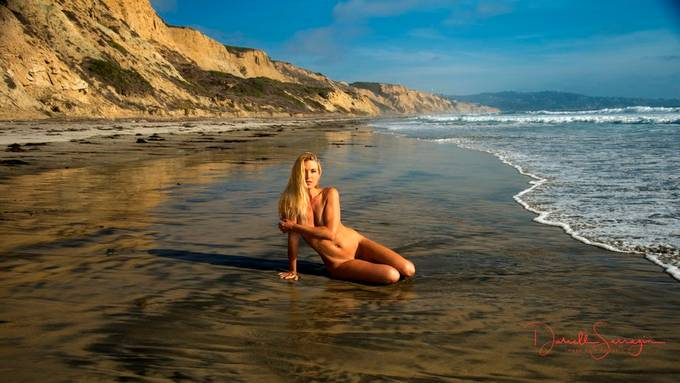 A beautiful day at the nude beach with Sara Gramm