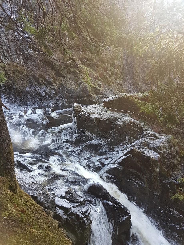 Taken at Plodda Falls, Scotland