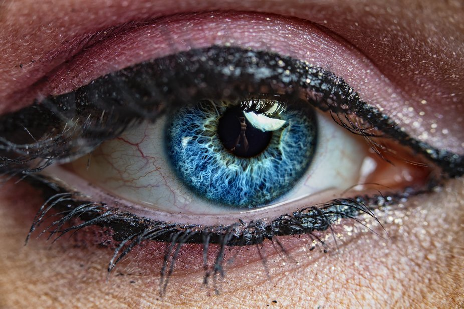 This was a model that a friend of mine had in the studio for a shoot and I asked if I could take a picture of both her and her sisters eyes because of how beautiful they are.