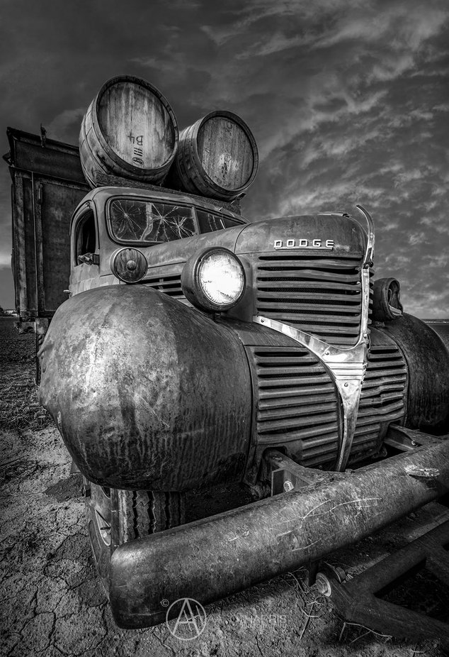 Old Truck by aaronharris - Our World In Black And White Photo Contest