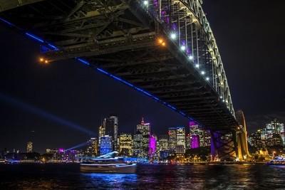 Sydney Harbour Bridge Vivid