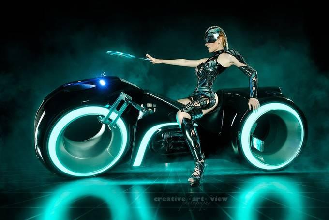 Cyborg Warrior by CreativeArtView - Futuristic Photo Contest