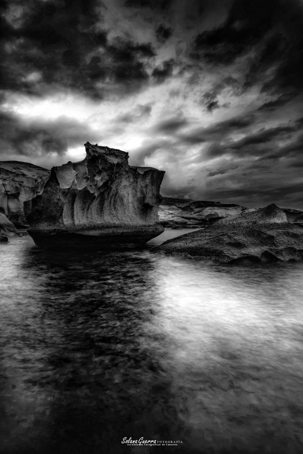 Refugio  by Solana - Our World In Black And White Photo Contest