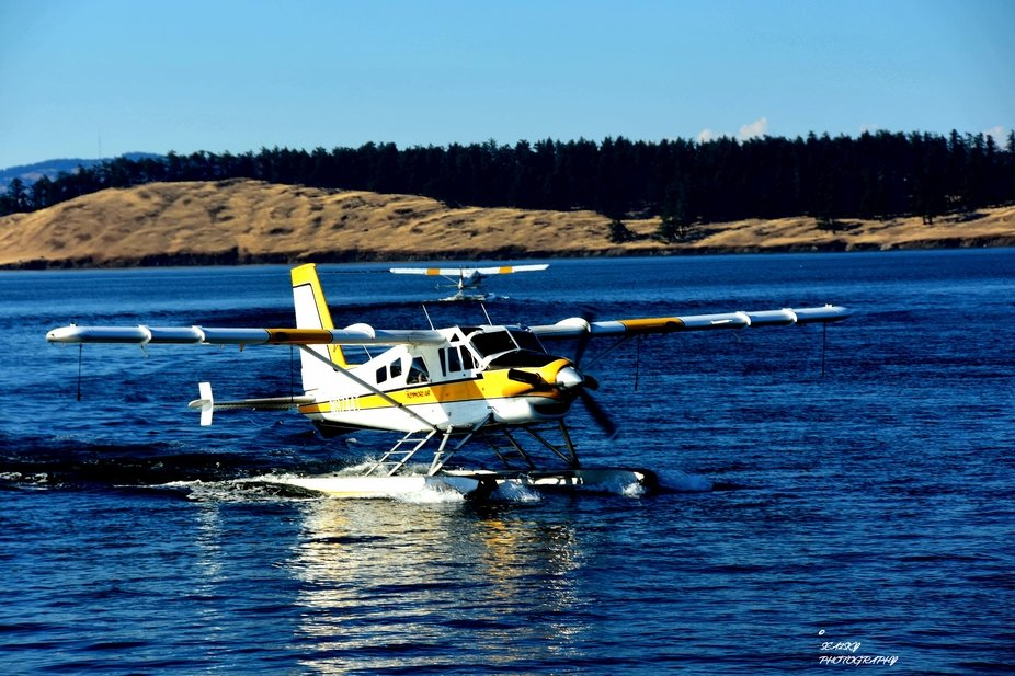 The San Juan Islands in Washington State have float planes coming and going constantly. Dropping ...