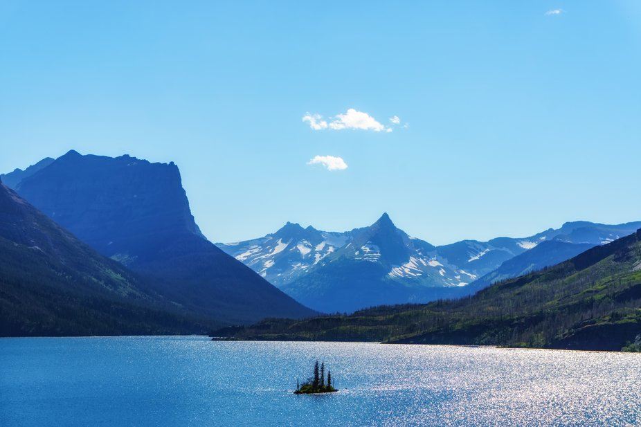 Wild Goose Island in St. Mary Lake, Glacier National Park