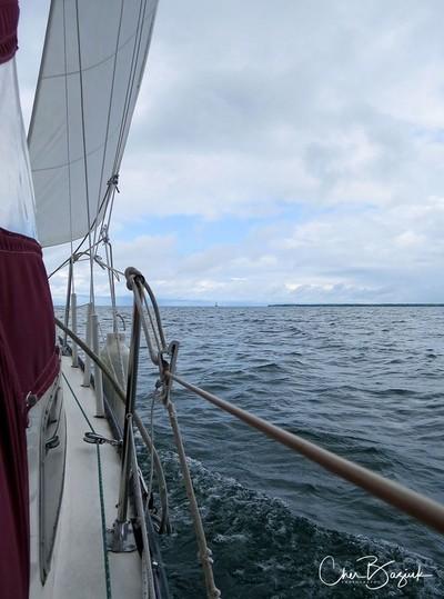 Sailing Lake Simcoe