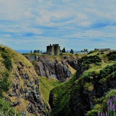 The beautiful Dunnottar Castle definitely worth a visit ....Scottish castles at their best !