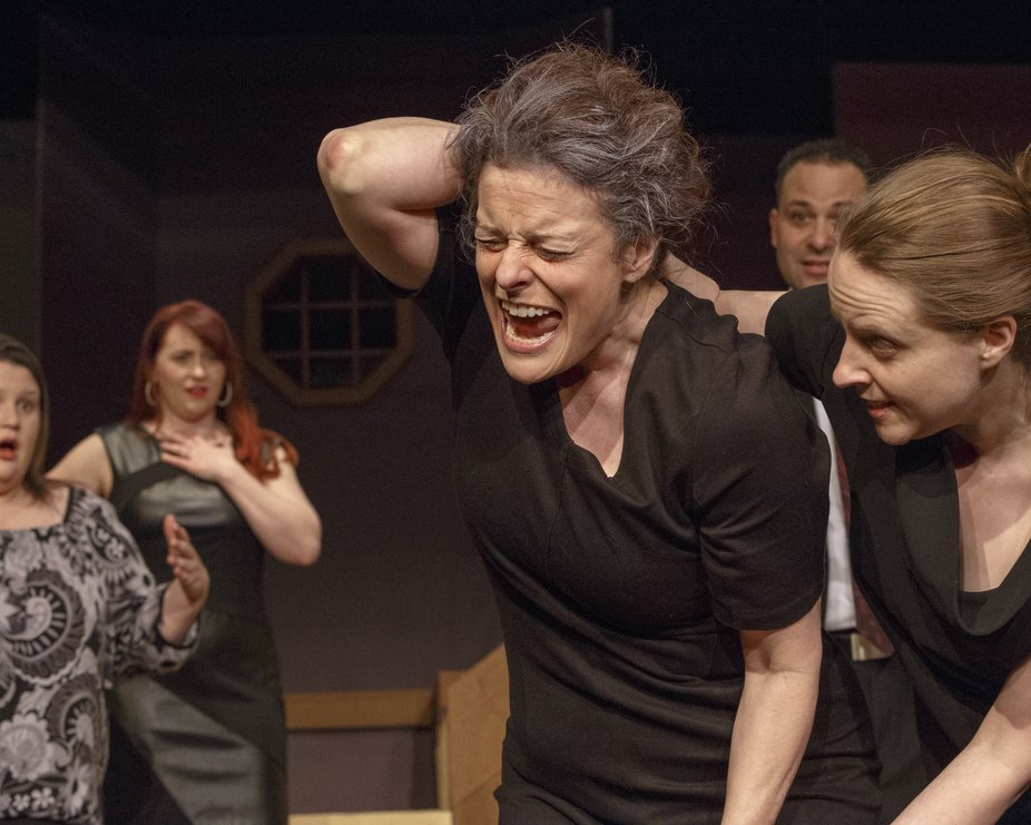 This was a release shot for the play August:  Osage County, performed by The Community Players, B...