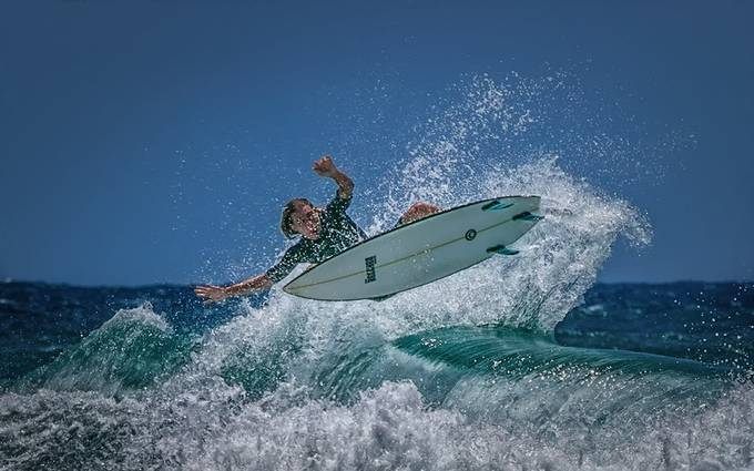 Surfing by domjdel - Health And Fitness Photo Contest