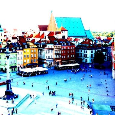 Architecture and life of Warsaw - the Capital city of Poland   (2)