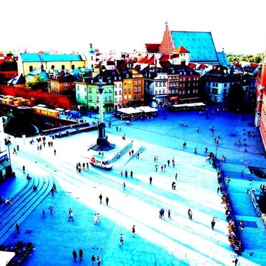 Architecture and life of Warsaw - the Capital city of Poland   (6)