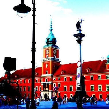 Architecture and life of Warsaw - the Capital city of Poland  (108)