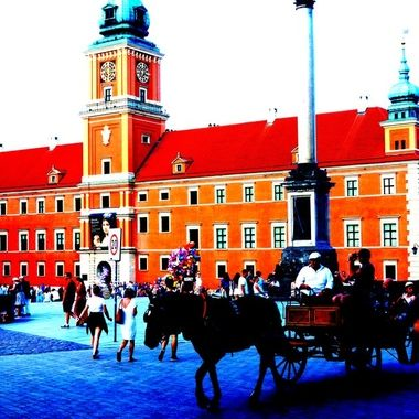 Architecture and life of Warsaw - the Capital city of Poland  (109)