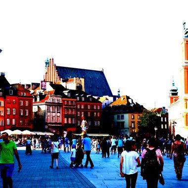 Architecture and life of Warsaw - the Capital city of Poland  (124)