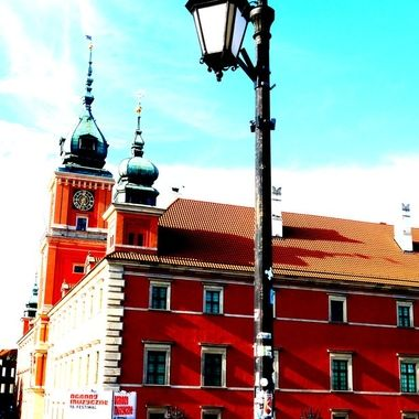 Architecture and life of Warsaw - the Capital city of Poland  (127)
