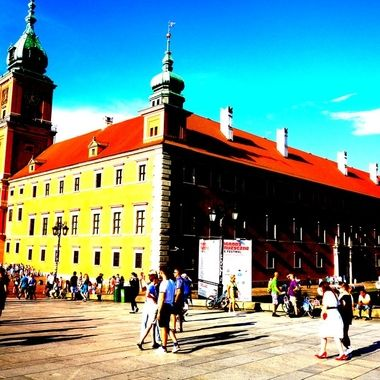 Architecture and life of Warsaw - the Capital city of Poland  (130)