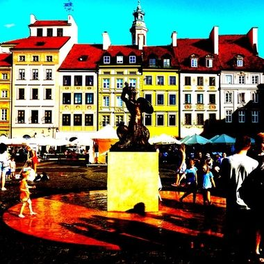 Architecture and life of Warsaw - the Capital city of Poland  (131)