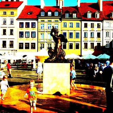 Architecture and life of Warsaw - the Capital city of Poland  (132)