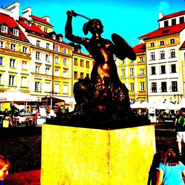 Architecture and life of Warsaw - the Capital city of Poland  (134)
