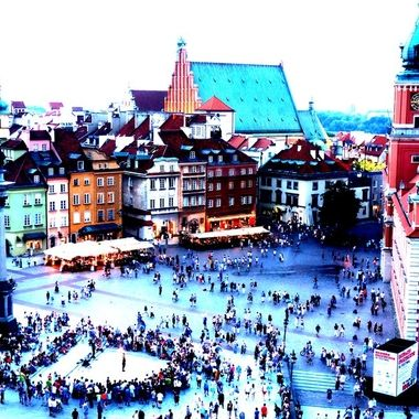 Architecture and life of Warsaw - the Capital city of Poland  (157)