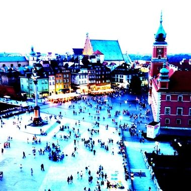 Architecture and life of Warsaw - the Capital city of Poland  (159)