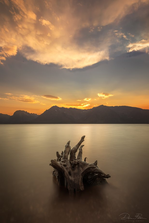 Grand Teton Dusk by Darrenp - The Natural Planet Photo Contest