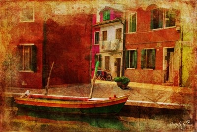 The Streets of Burano 1
