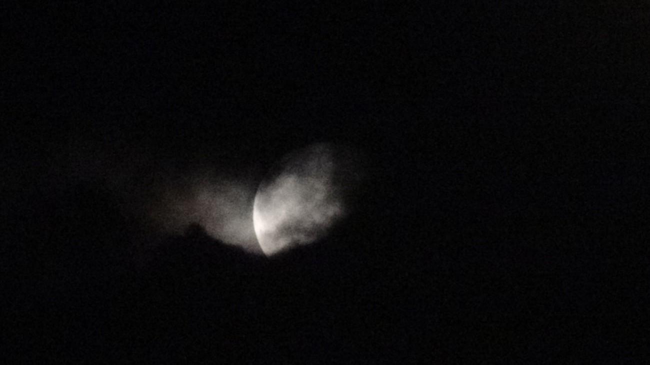 Lunar Eclipse Friday, July 27, 2018 Belgium (Third photo)