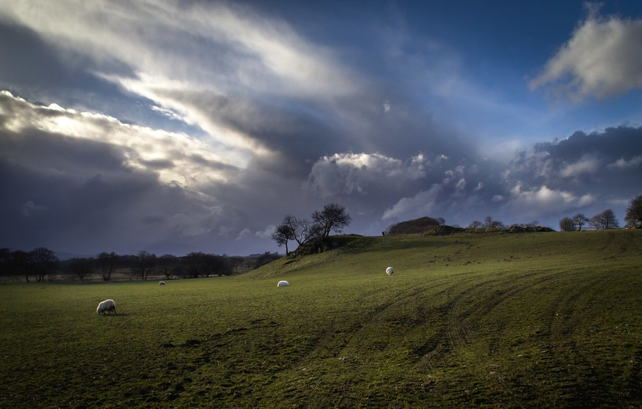 A storm had just passed over when I caught this image of the Denbighshire Countryside.  In the di...
