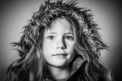 Hood portrait