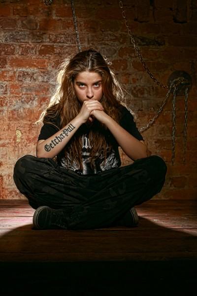 Irina - death metal rock singer