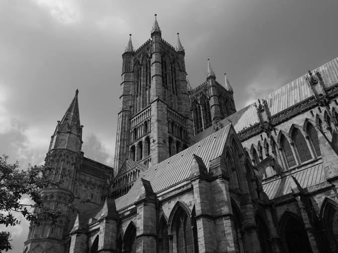 Lincoln Cathedral, near 950 years old.