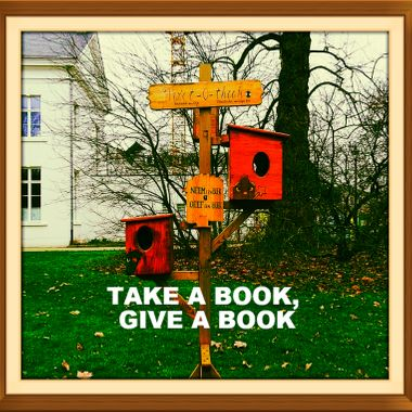 TAKE A BOOK, GIVE A BOOK copy
