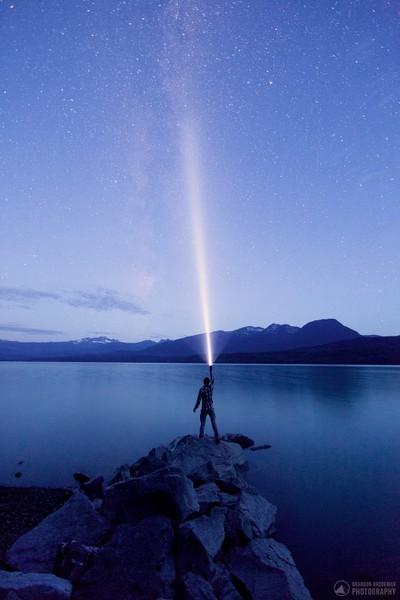 Kalum Lake Milky Way