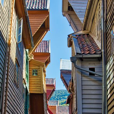I took this photo when me and my wife went on a boat trip to Norway. This photo was taken while we were walking around the town. Our guide took us to the old part of the town where we could walk through the alleys and take a lot of photos.