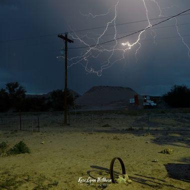 Curled lightning