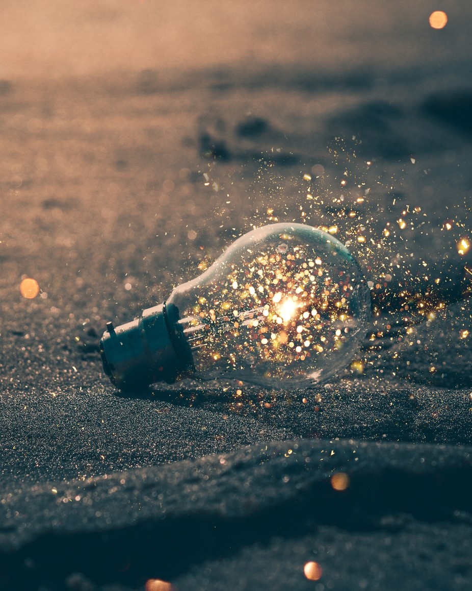 Spark Bulb by arpit_purti - Creative Reality Photo Contest