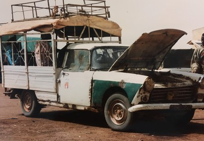 Travelling Mali with taxi brousse