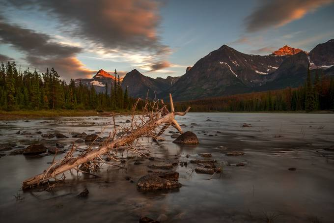 At The Athabasca River by RalfvonSamson - Creative Landscapes Photo Contest vol3