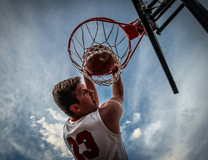 Dunk by BradPetersPhotography - Health And Fitness Photo Contest