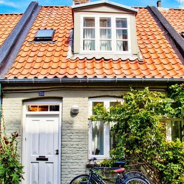 I took this photo when me and my wife went on a boat trip to Norway, Denmark and Germany in July 2018. After visiting Norway, our ship stopped at the second largest city of Denmark, Aarhus. Our guide took us to this historic site, the small houses of Mollestien.