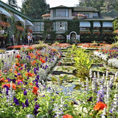 Buchart Gardens (1), Victoria. British Columbia, Canada